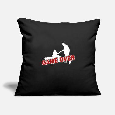 Game Over Game over - the game is over - Pillowcase 17,3'' x 17,3'' (45 x 45 cm)