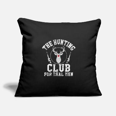Hunting Hunting Hunting Club. hunt - Pillowcase 17,3'' x 17,3'' (45 x 45 cm)