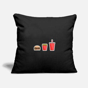 Fast Food Fast food - Pillowcase 17,3'' x 17,3'' (45 x 45 cm)