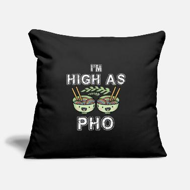 Soup High as pho - Vietnam, noodle soup - Pillowcase 17,3'' x 17,3'' (45 x 45 cm)