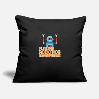 Program Future robotics engineer - robots - Pillowcase 17,3'' x 17,3'' (45 x 45 cm)