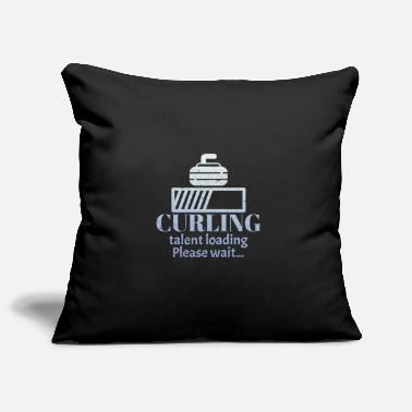Curling Curling curling curling - Pillowcase 17,3'' x 17,3'' (45 x 45 cm)