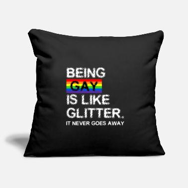 Gay is glitter - Pillowcase 17,3'' x 17,3'' (45 x 45 cm)