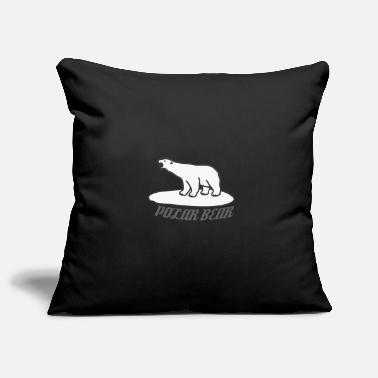 Polar Bear Polar bear - polar bear - Pillowcase 17,3'' x 17,3'' (45 x 45 cm)