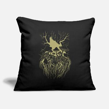 Forest Spirit Pilzopa - Sofa pillowcase 17,3'' x 17,3'' (45 x 45 cm)