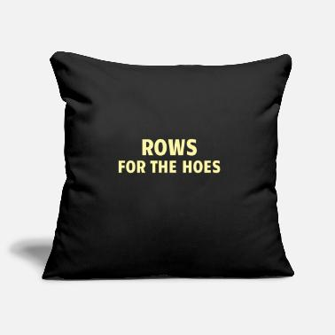 Weights POWERLIFTING: Rows for the Hoes - Pillowcase 17,3'' x 17,3'' (45 x 45 cm)