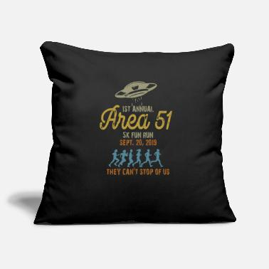Annual Party 1St Annual Area 51 5k Fun Run - Pillowcase 17,3'' x 17,3'' (45 x 45 cm)