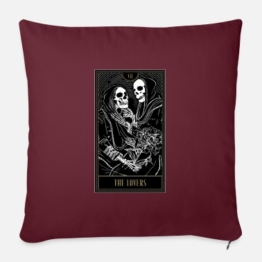 Cards Nationwide The Lovers Tarot Card - Pillowcase 17,3'' x 17,3'' (45 x 45 cm)