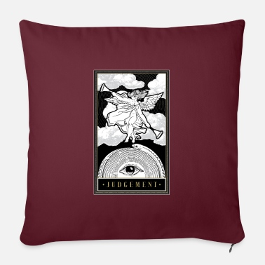 Cards Nationwide Judgment - Tarot Cards Reading - Pillowcase 17,3'' x 17,3'' (45 x 45 cm)