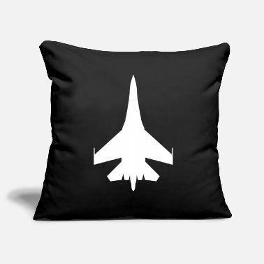 Jet Military Fighter - Pillowcase 17,3'' x 17,3'' (45 x 45 cm)