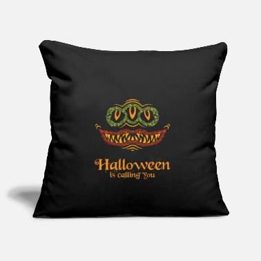 Earth Halloween holiday of the monsters - Pillowcase 17,3'' x 17,3'' (45 x 45 cm)