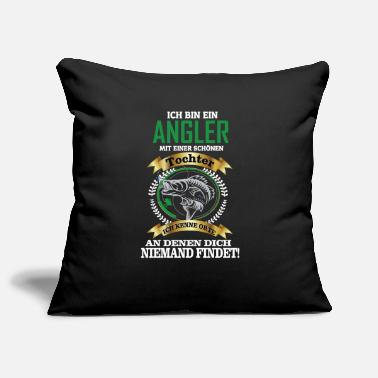 I am an angler gift idea - Pillowcase 17,3'' x 17,3'' (45 x 45 cm)