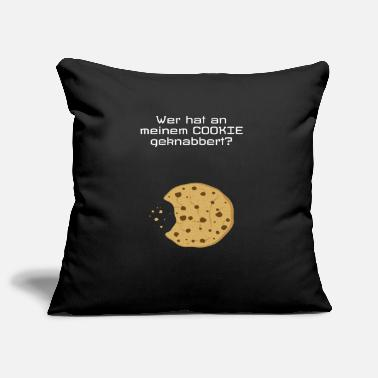 Who gnawed on my cookie? - Pillowcase 17,3'' x 17,3'' (45 x 45 cm)
