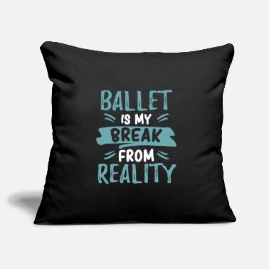 Funny beautiful cute ballet ballet dancer - Pillowcase 17,3'' x 17,3'' (45 x 45 cm)