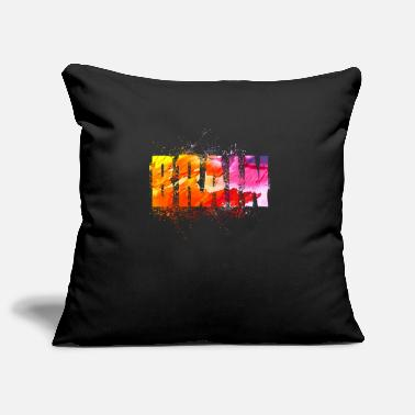 Brain Brain Brain - Pillowcase 17,3'' x 17,3'' (45 x 45 cm)