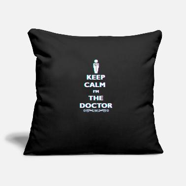 Anaglyph Keep Calm At The Doctor 3D Anaglyph Retro Doctor - Pillowcase 17,3'' x 17,3'' (45 x 45 cm)
