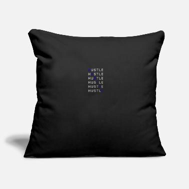 Hustle HUSTLE - Pillowcase 17,3'' x 17,3'' (45 x 45 cm)