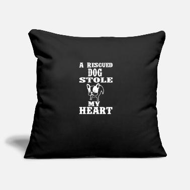 Animal Rescue Dog Animal rescue Animal shelter Animal rescue Animal lover - Pillowcase 17,3'' x 17,3'' (45 x 45 cm)