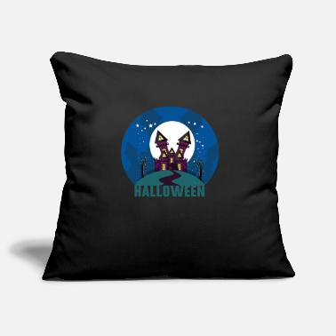 Haunted Halloween haunted house haunted house - Pillowcase 17,3'' x 17,3'' (45 x 45 cm)