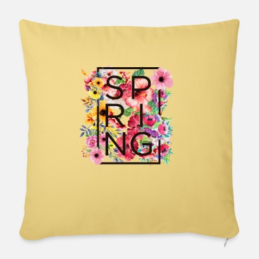 Spring Spring - spring - Pillowcase 17,3'' x 17,3'' (45 x 45 cm)