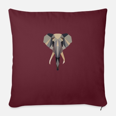 Africa Elephant, Africa, - Pillowcase 17,3'' x 17,3'' (45 x 45 cm)