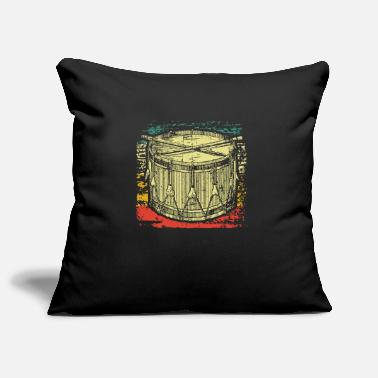 Drums Drum drum - Pillowcase 17,3'' x 17,3'' (45 x 45 cm)
