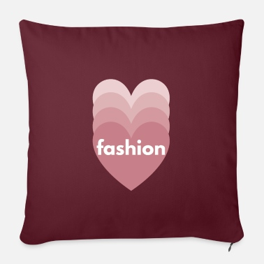 Cool Fashion comes from within. - Pillowcase 17,3'' x 17,3'' (45 x 45 cm)