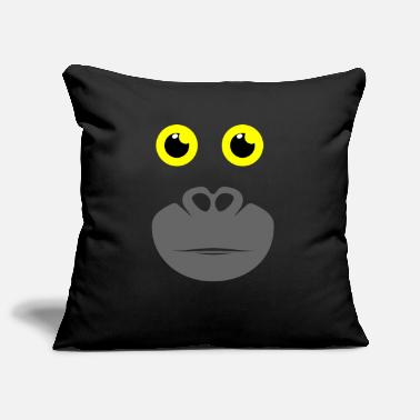 Gorilla gorilla - Pillowcase 17,3'' x 17,3'' (45 x 45 cm)