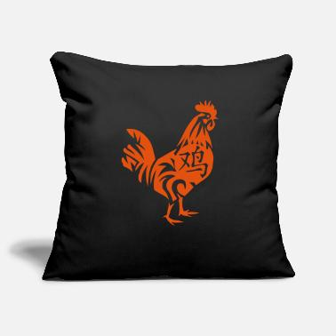 Chinese Zodiac Sign Rooster Rooster Chinese Zodiac sign rooster 2 - Pillowcase 17,3'' x 17,3'' (45 x 45 cm)