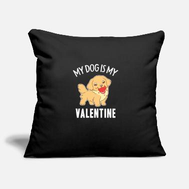 Memorial Day Valentine's Day Dog Lover Gift For Men And Women - Pillowcase 17,3'' x 17,3'' (45 x 45 cm)