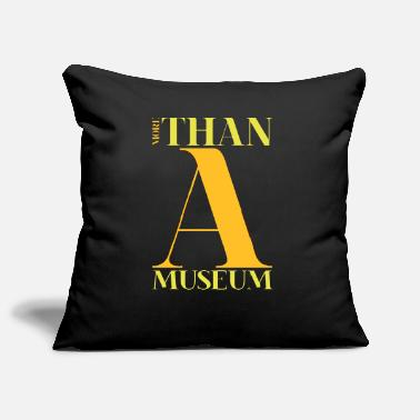 Museum a museum - Pillowcase 17,3'' x 17,3'' (45 x 45 cm)