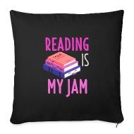 Reading Shirt Book Education Bookworm Novel Gift   Pillowcase 17,3u0026#39;u0026