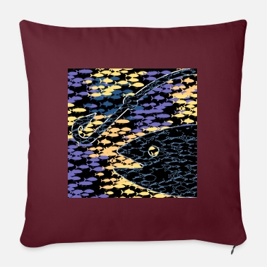 Unlucky, but still hooked on fishing - Pillowcase 17,3'' x 17,3'' (45 x 45 cm)