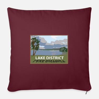 Lake District windermere in the lakes Cumbria - Pillowcase 17,3'' x 17,3'' (45 x 45 cm)