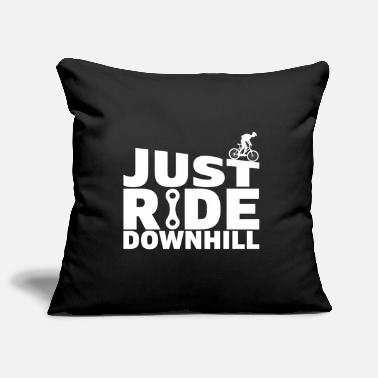 Chain Just Ride Downhill Bike Bicycle Gift - Pillowcase 17,3'' x 17,3'' (45 x 45 cm)
