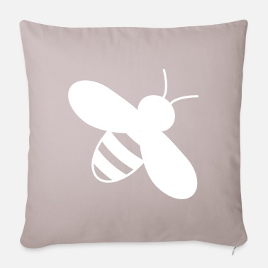 Clap bee - Pillowcase 17,3'' x 17,3'' (45 x 45 cm)