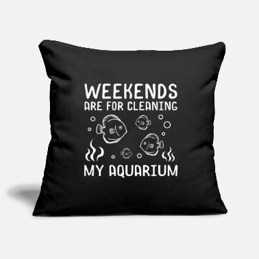 Octopus Aquarium cleaning - Pillowcase 17,3'' x 17,3'' (45 x 45 cm)