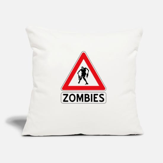 Halloween Pillow Cases - zombies - Pillowcase 17,3'' x 17,3'' (45 x 45 cm) natural white