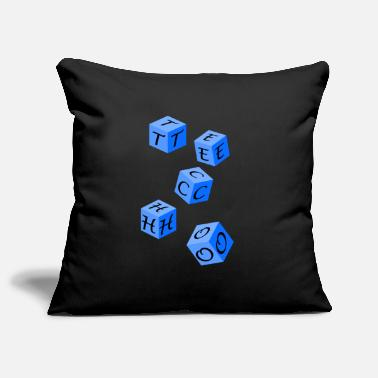 Music Techno - Pillowcase 17,3'' x 17,3'' (45 x 45 cm)