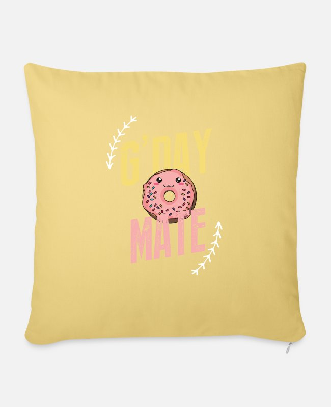 Mateo Pillow Cases - g day mate - Pillowcase 17,3'' x 17,3'' (45 x 45 cm) washed yellow