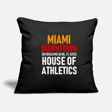 Spring Break Downtown Miami - Athletics House - Florida - Soffkuddsöverdrag, 44 x 44 cm