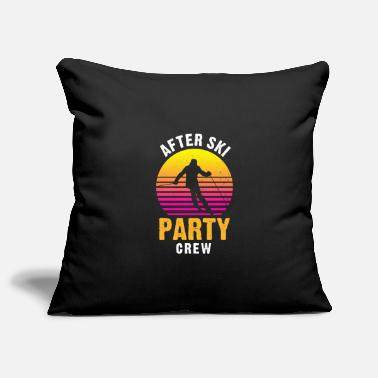 After Ski After ski party crew - Pillowcase 17,3'' x 17,3'' (45 x 45 cm)