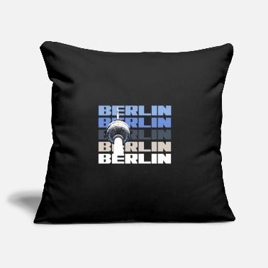 State Capital Berlin capital state television tower - Pillowcase 17,3'' x 17,3'' (45 x 45 cm)