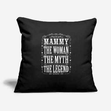 Mammy The Legend Mammy The Legend... - Pillowcase 17,3'' x 17,3'' (45 x 45 cm)