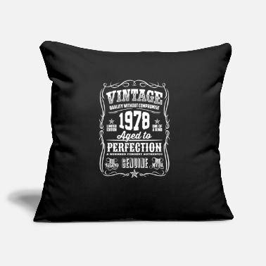 Myth 1978 Vintage 40th Birthday gift 40 years old - Pillowcase 17,3'' x 17,3'' (45 x 45 cm)