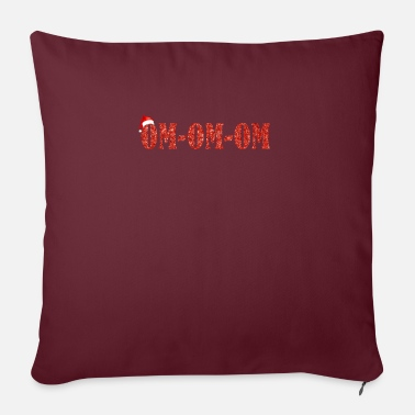 Om Om Om Om Christmas - Pillowcase 17,3'' x 17,3'' (45 x 45 cm)