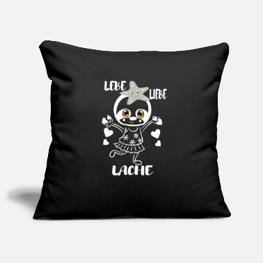 Live Love Laugh - Pillowcase 17,3'' x 17,3'' (45 x 45 cm)