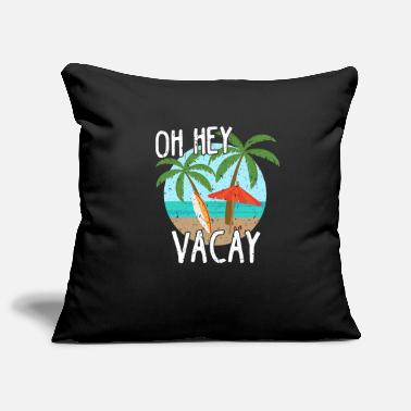 Annual Party Island surfing holiday annual holiday sea sun party - Pillowcase 17,3'' x 17,3'' (45 x 45 cm)