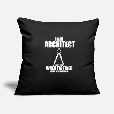 Blueprint Architect blueprint - Pillowcase 17,3'' x 17,3'' (45 x 45 cm)