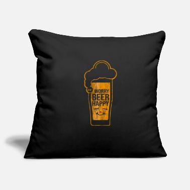Liqueur Beer glass liqueur gift - Pillowcase 17,3'' x 17,3'' (45 x 45 cm)